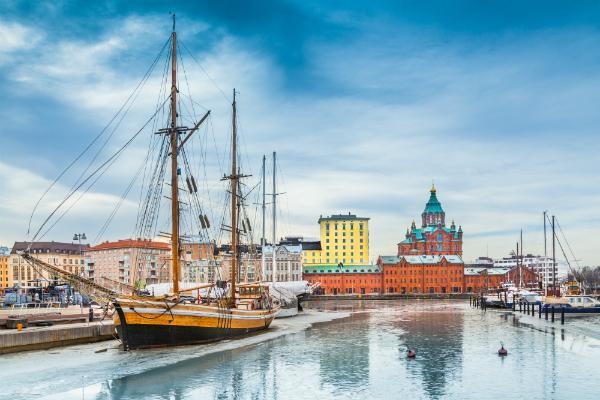 Helsinki looking magical in wintertime