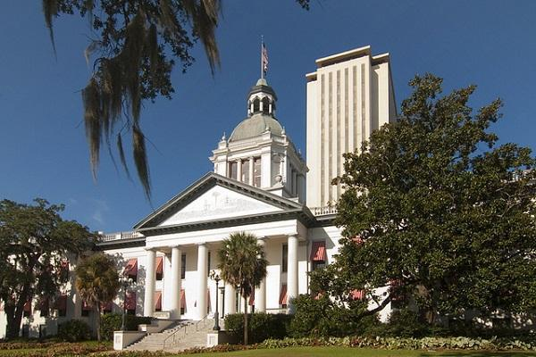 The historic Florida Capitol building