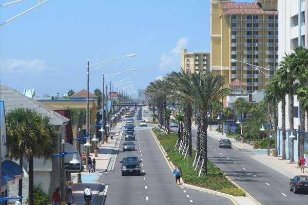 View of Daytona Beach.
