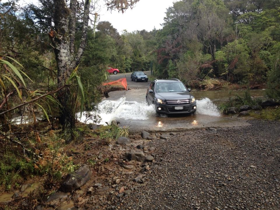 Ford crossing in New Zealand