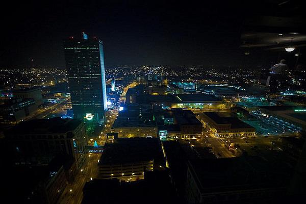 Fort Wayne by night