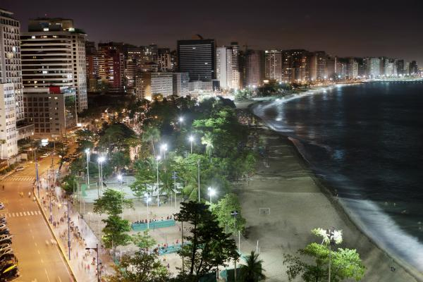 Fortaleza at night