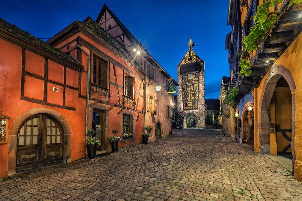 The quaint towns of Alsace will transport you back to an older, simpler time.