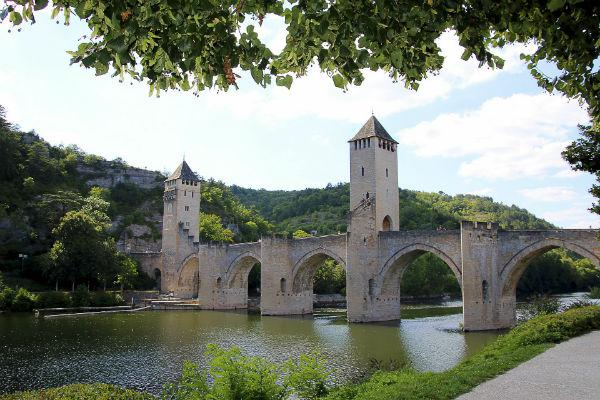 Cahors has a rich history, grandly displayed in its impressive architecture.