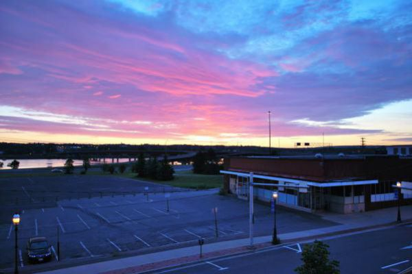 Get inspired by this stunning sky in Fredericton.