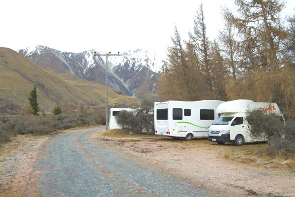 New Zealand boasts many excellent freedom camping spots, but it pays to do your research before parking up your New Zealand campervan rental.