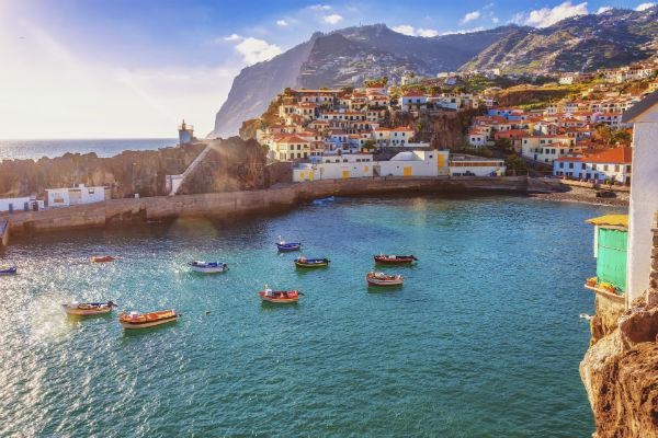The colourful city of Funchal is a tourist's dream.