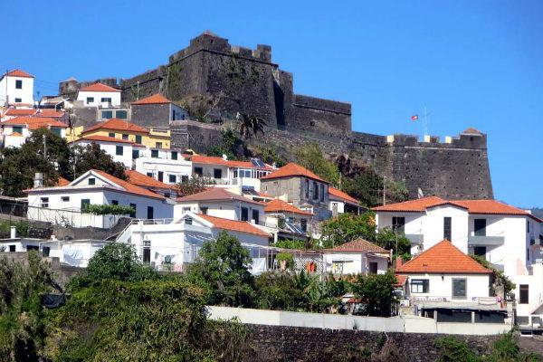 The Fortaleza do Pico in Funchal was originally built in the 16th century.