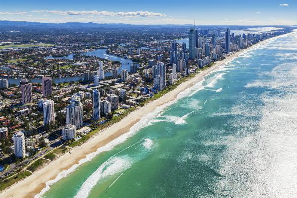 Surfers Paradise is the top destination on the Gold Coast, and also serves as a great jumping off point for road trips along Australia's east coast.
