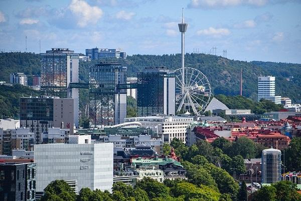 A view over the city of Gothenburg