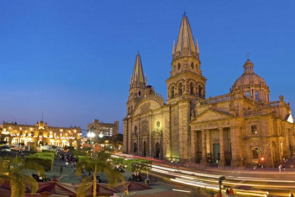 The Guadalajara Cathedral is famed worldwide for its beauty.