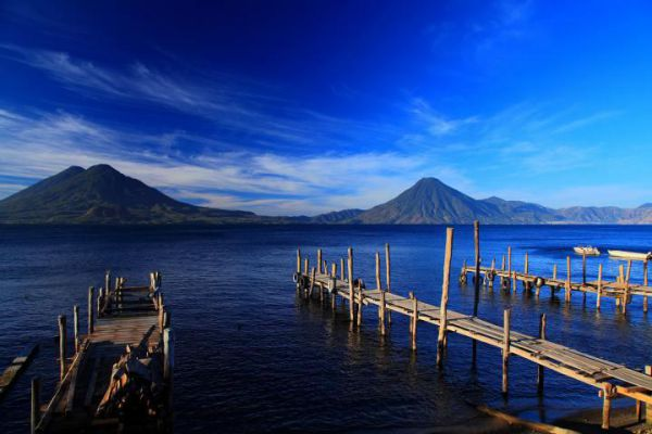 Guatemala, a Central American country south of Mexico, is home to volcanoes, rainforests and ancient Mayan sites.