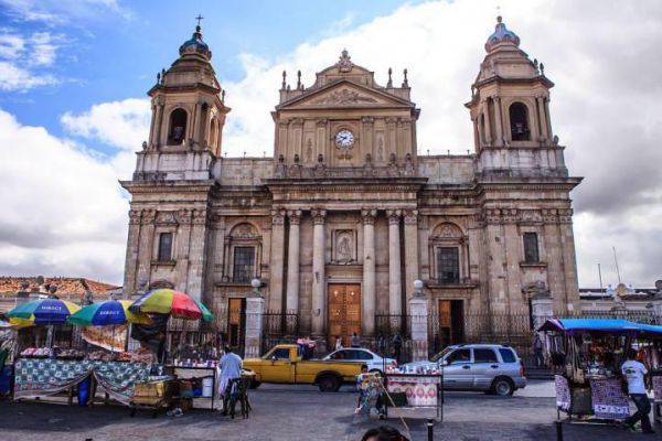 Catedral Primada Metropolitana de Santiago is the main church of Guatemala City.