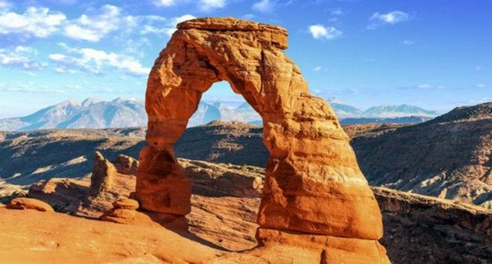 美国房车自驾路线推荐拱门国家公园