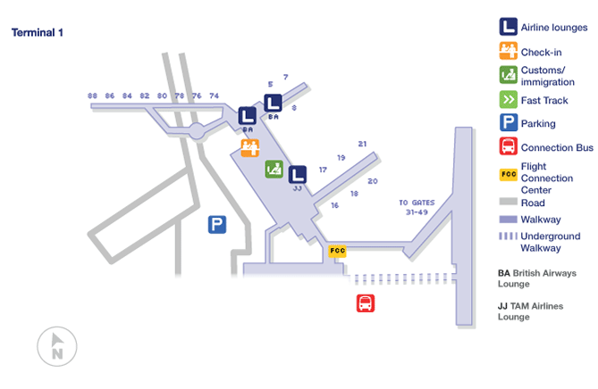 london heathrow terminal map