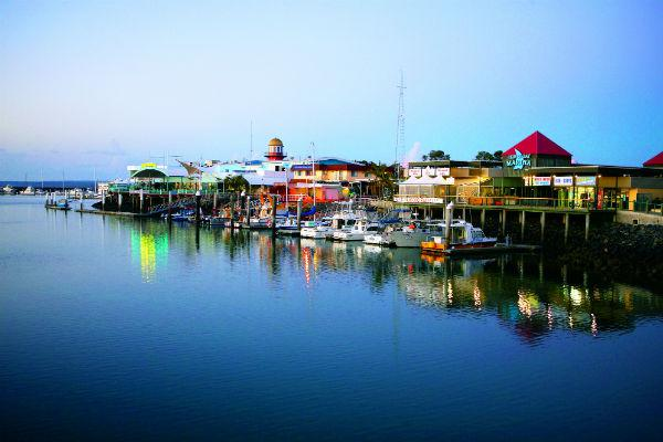 Get out on the water to make the most of Hervey Bay's attractions.