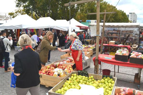 Hobart's Salamanca Markets are famed across Tasmania for their astounding array of crafts and produce.