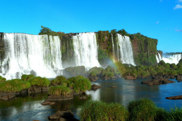 The sheer immensity of the Iguazu Falls will take your breath away.