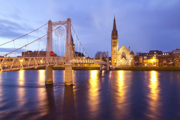 Both within Inverness and in the countryside nearby, there are countless charming attractions.