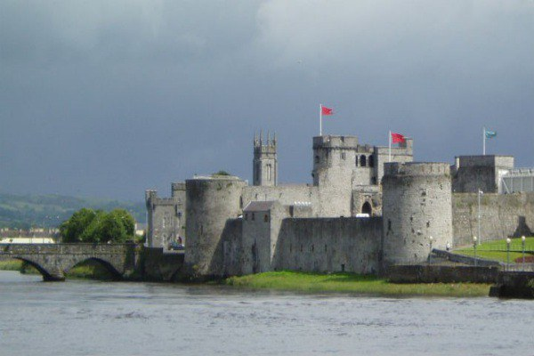 King John's Castle in Limerick is in remarkable condition for its age