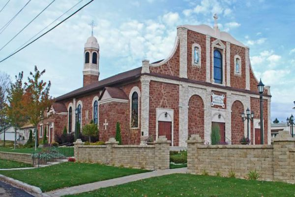 The Immaculate Conception Church is a registered Michigan State Historic Site in Iron Mountain.