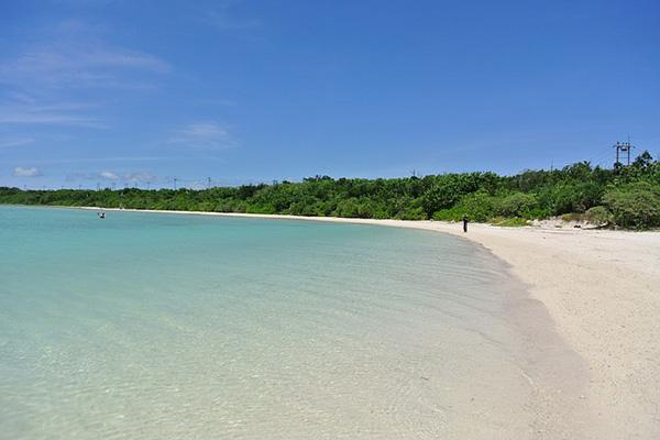 The idyllic waters and sandy shores of Ishigaki Island, Japan
