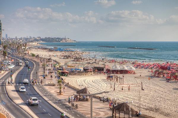 Enjoy Tel Aviv's beautiful Mediterranean beaches.