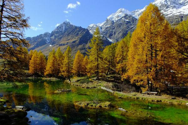 Aosta Valley is one of the most gorgeous places in Italy.