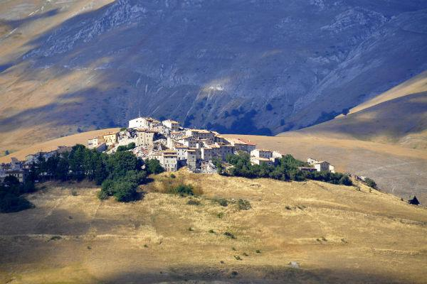 Castelluccio is the highest town in the Apennines, and a truly astounding place to visit in early summer thanks to its wildflowers.
