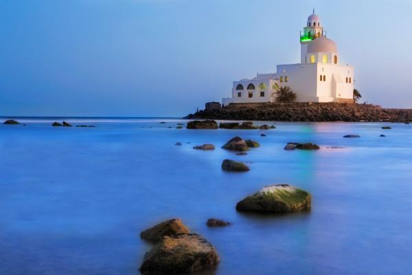The Jeddah Corniche is a great place to stroll