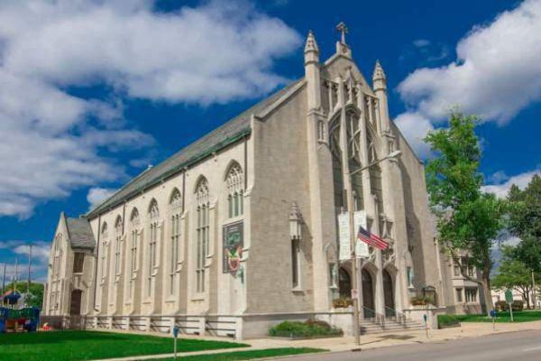 The First United Methodist Church in Kalamazoo