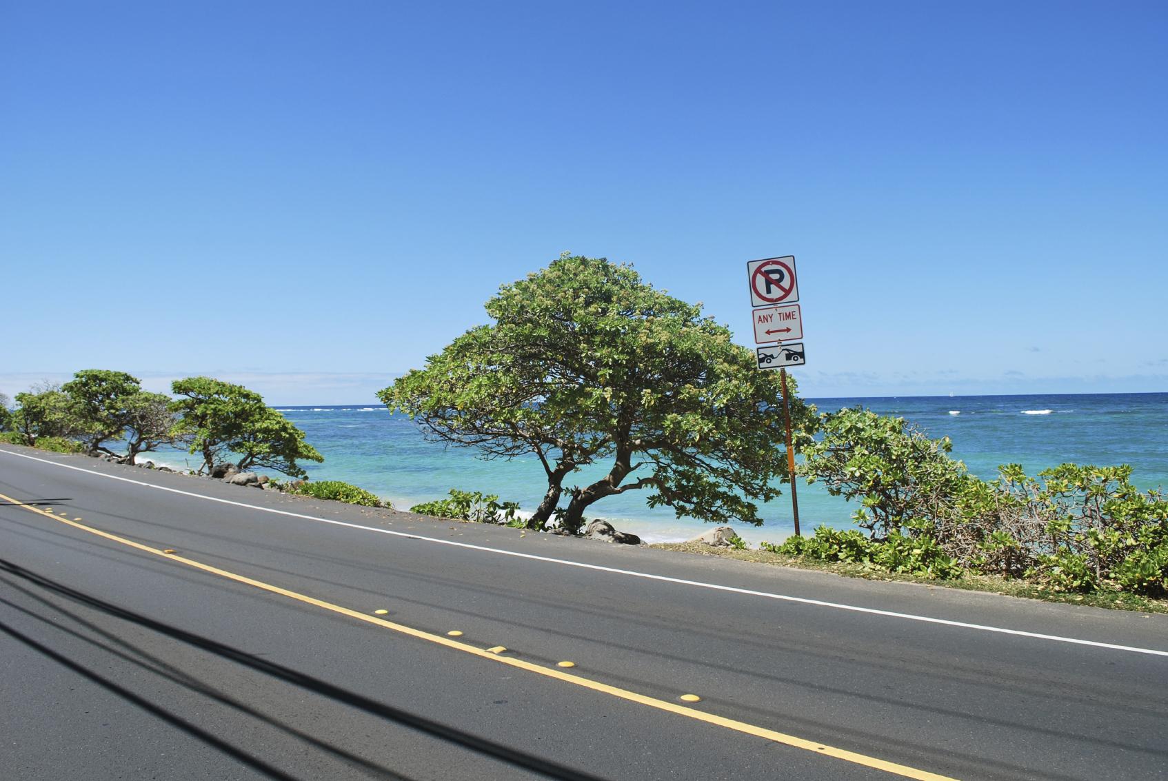 Kamehameha highway, honolulu