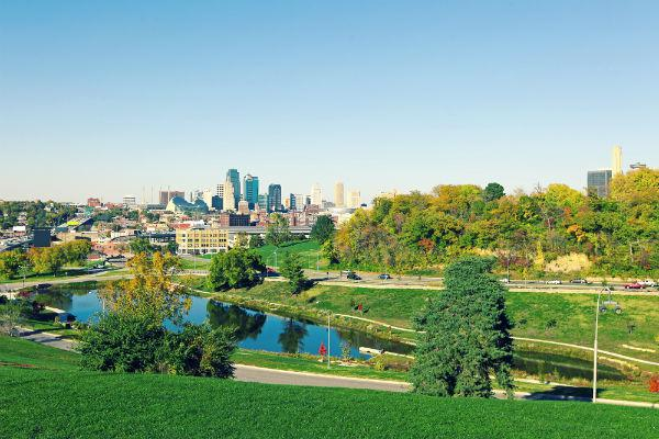 Kansas City may be large, but that doesn't mean you can't find beautiful parks and green spaces to unwind from the concrete jungle.