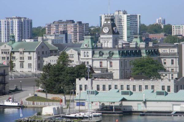 The Royal Military College of Canada in Kingston.