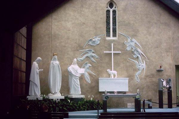 The shrine at Knock is one of Ireland's most famous religious artifacts.