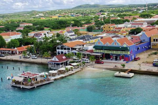 Kralendijk is the capital of Bonaire, a Dutch island in the Caribbean Sea.