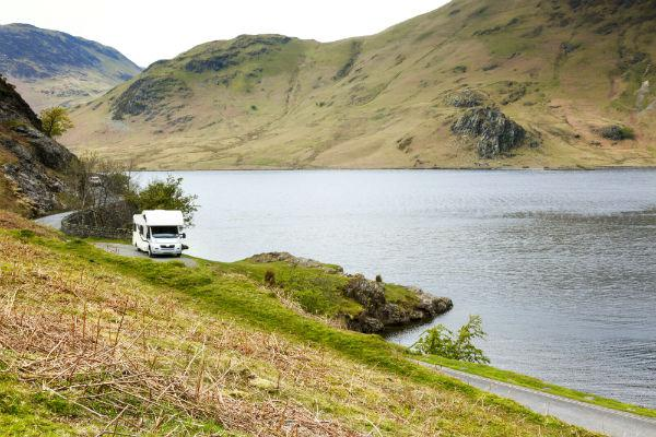 England's Lake District is one of the most beautiful places for a campervan holiday in all of Britain.