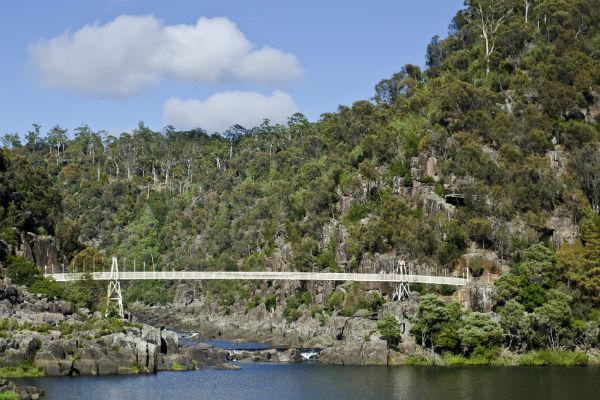 Cataract Gorge lies just a short distance from Launceston, but it feels worlds away from civilisation.