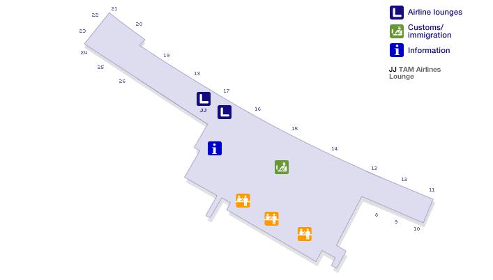 Lima Airport Terminal Map