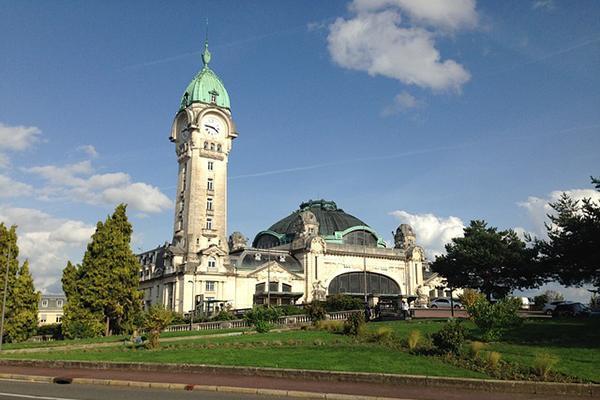 Limoges Station, in Limoges France