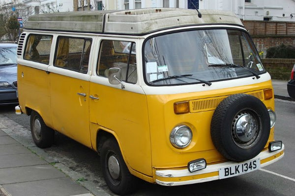 Little Miss Sunshine just wouldn't be the same without the iconic yellow VW campervan.