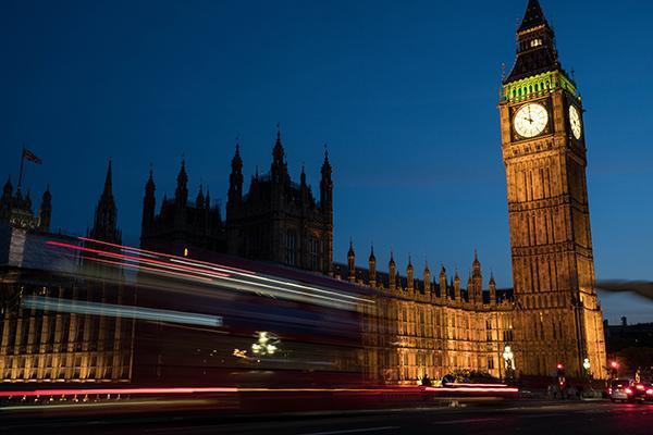 Big Ben stands tall above London as the city bustles below