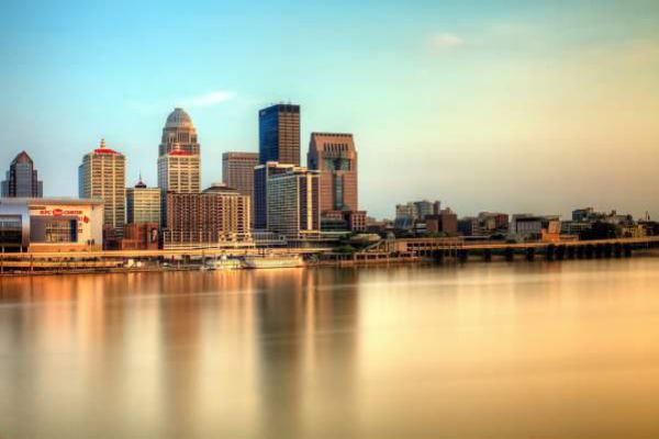 Louisville skyline by day.