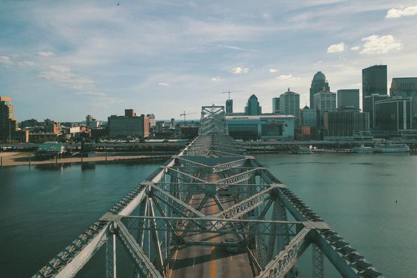 JFK Memorial Bridge, Louisville, Kentucky