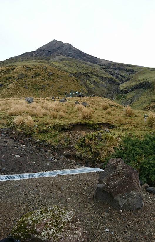 Mt Taranaki summit climb