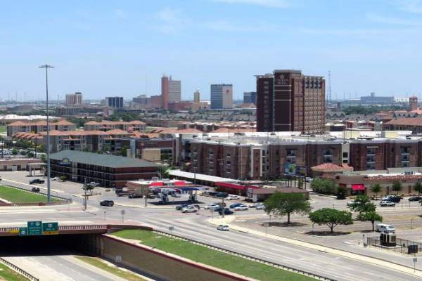 Lubbock skyline by day.