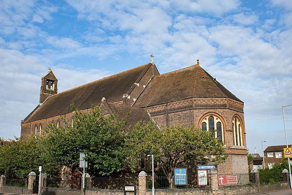 Church of St Matthew in Luton, United Kingdom