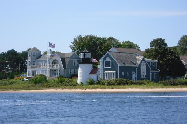 The Kennedy estate, passed down for generations, overlooks the ocean in Hyannis, Massachusetts