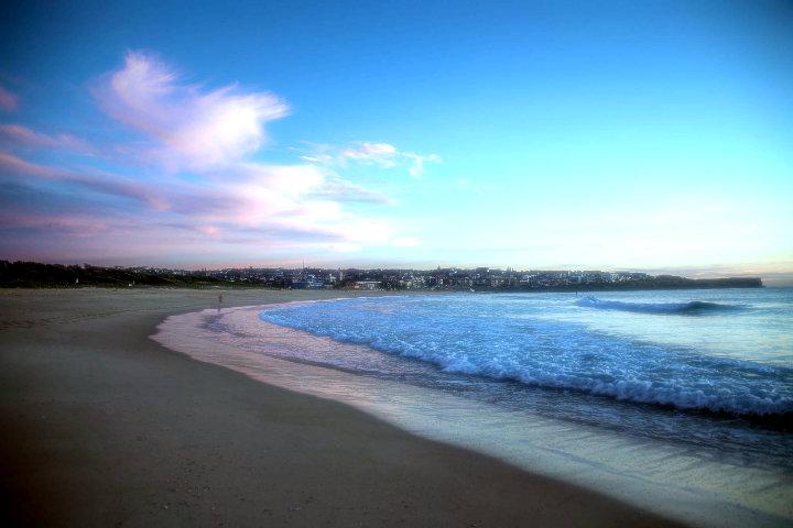 maroubra悉尼最干净的海滩之一马鲁布拉