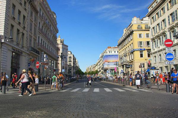 Try to avoid the Marseille city centre if you can - park up outside the centre and then navigate on foot or via public transport.